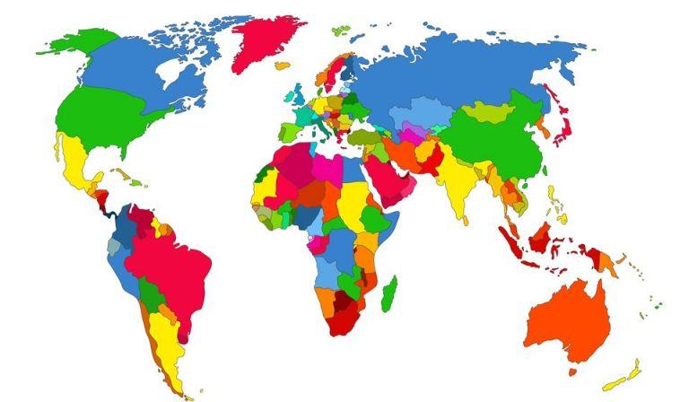 adan zye dünya ülkeler listesi ingilizce türkçe